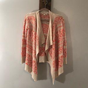 Long sleeve cardigan by Pink Republic size Medium